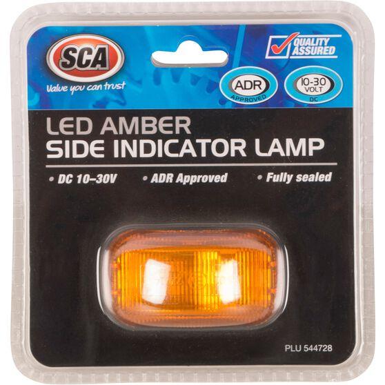 SCA Side Marker - LED, Amber, 10-30V, , scanz_hi-res