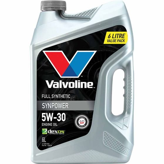 Valvoline Synpower Engine Oil 5W-30 6 Litre, , scanz_hi-res
