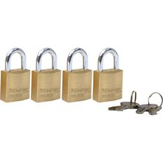 Master Lock Fortress Padlock - 20mm, 4 Pack, , scanz_hi-res
