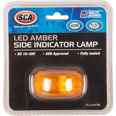 SCA Side Marker - LED, Amber, 10-30V, , scanz_hi-res