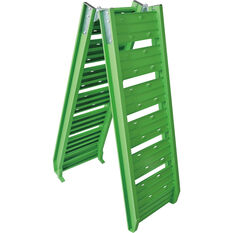 SCA Loading Ramp Aluminium Green Single 220kg, , scanz_hi-res