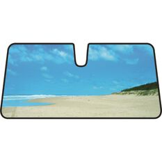 Beach Sunshade - Blue, Accordion, Front, , scanz_hi-res