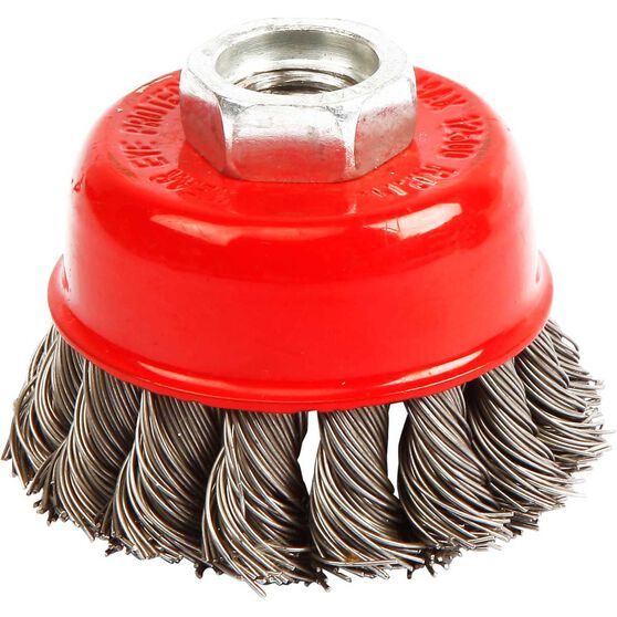 ToolPRO Wire Cup Brush - 65mm, Twist Knot, , scanz_hi-res