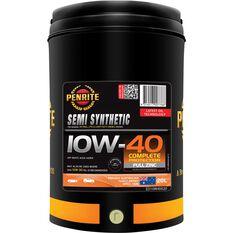 Penrite Semi Synthetic Engine Oil - 10W-40 20 Litre, , scanz_hi-res