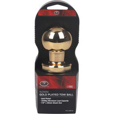 Tow ball - Gold Plated, 50mm, , scanz_hi-res