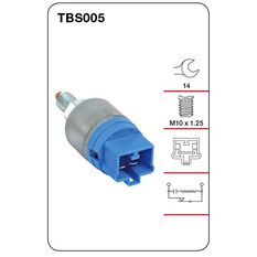 Tridon Stop Light Switch - TBS005, , scanz_hi-res