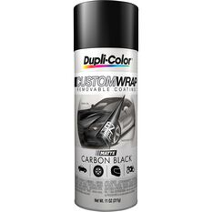 Dupli-Color Aerosol Paint Custom Wrap - Matte Carbon Black, 311g, , scanz_hi-res