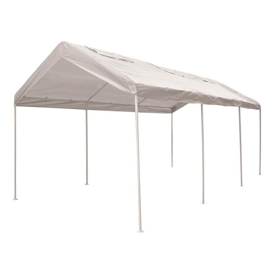 CoverALL Carport Replacement Tarp - 3 x 6m, White, , scanz_hi-res