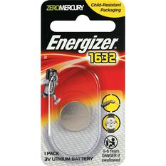 Specialty Lithium Battery - 1632, 1 Pack, , scanz_hi-res