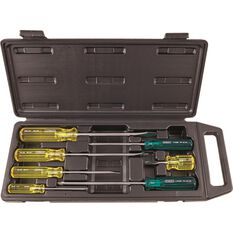 Stanley Screwdriver Set - Acetate, 7 Piece, , scanz_hi-res