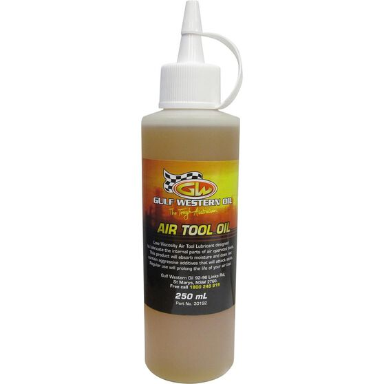 Gulf Western Air Tool Oil - 250mL, , scanz_hi-res