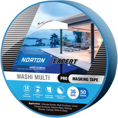 Norton Expert 14 Day Masking Tape - 36mm x 50m, , scanz_hi-res