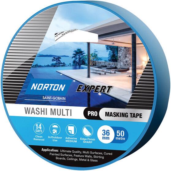 Norton Expert 14 Day Masking Tape - 36mm x 50m, , scanz_hi-res