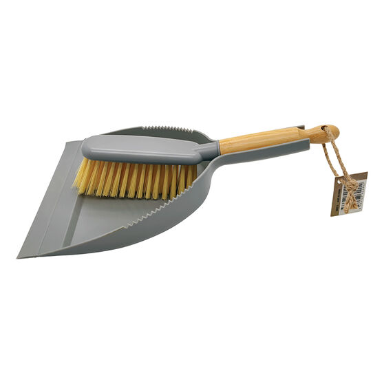 Bamboo Dustpan and Brush, , scanz_hi-res