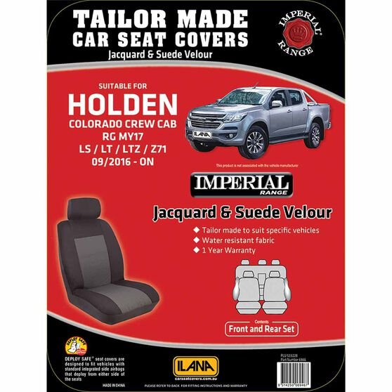 Ilana Imperial Tailor Made Pack for Holden Colorado RG 09/16+, , scanz_hi-res