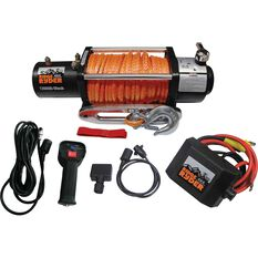 Ridge Ryder Electric Winch - 12000lb, 12 Volt, , scanz_hi-res