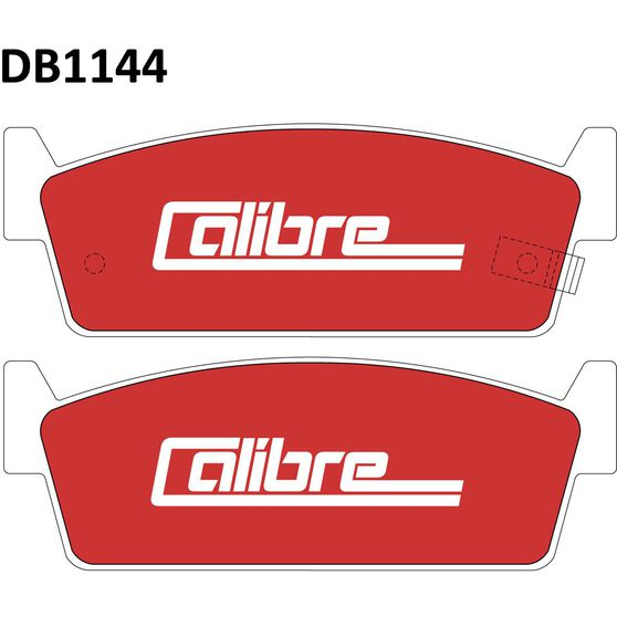 Calibre Disc Brake Pads - DB1144CAL, , scanz_hi-res