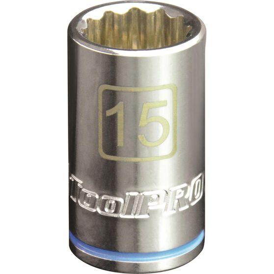 "ToolPRO Single Socket - 1/2"" Drive, 15mm, , scanz_hi-res"