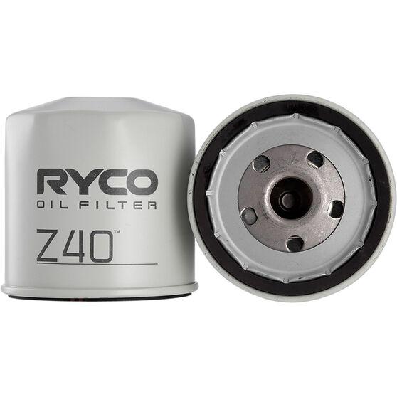 Ryco Oil Filter - Z40, , scanz_hi-res