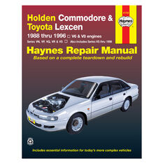 Car Manual For Holden Commodore / Toyota Lexcen 1988-1996, , scanz_hi-res