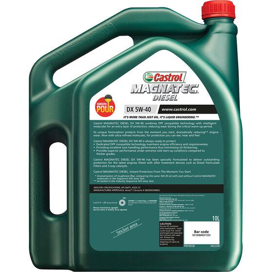Castrol MAGNATEC Diesel Engine Oil 5W-40 DX 10 Litre, , scanz_hi-res