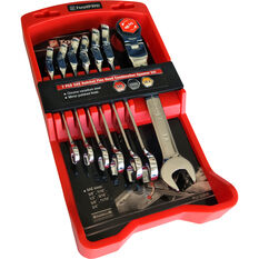 ToolPRO Spanner Set - Ratchet, Flex Head, 7 Piece, Imperial, , scanz_hi-res