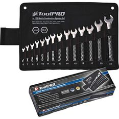 ToolPRO Spanner Set - Combination, 14 Piece, Metric, , scanz_hi-res