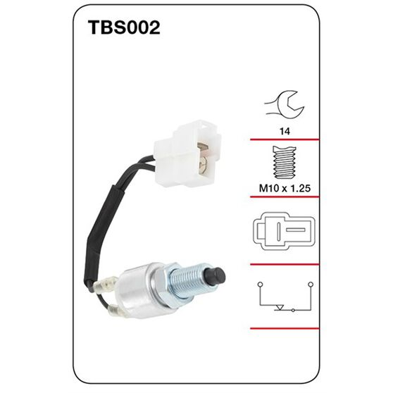 Tridon Stop Light Switch - TBS002, , scanz_hi-res