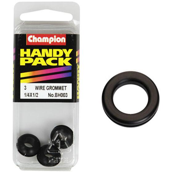Champion Wiring Grommet - 1 / 4 X 1 / 2inch, BH003, Handy Pack, , scanz_hi-res