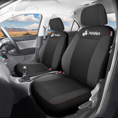 Holden Houston Seat Covers - Black/Red Adjustable Headrests Size 30 Airbag Compatible, , scanz_hi-res