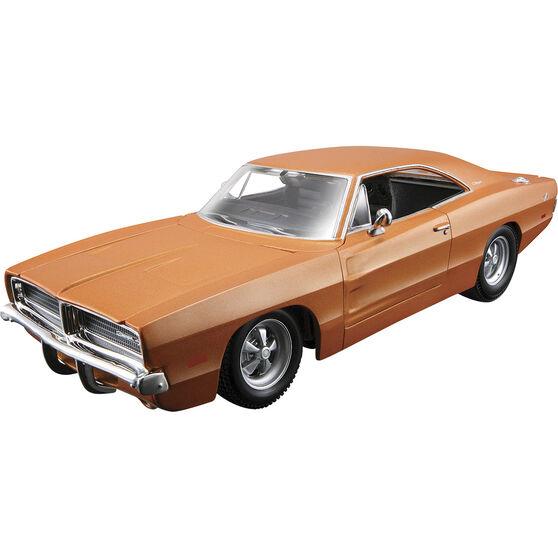 Die Cast, Assembly model; Dodge Charger - 1:24 scale model, , scanz_hi-res