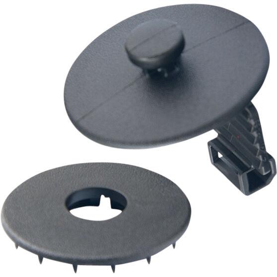 Champion Carpet Clips - Black, 3 Pack, , scanz_hi-res