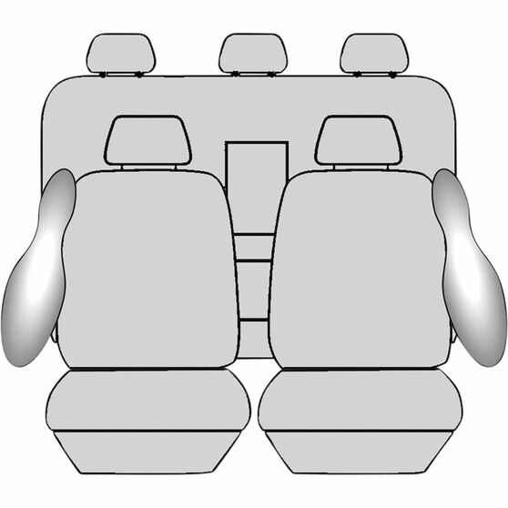 Ilana Imperial Tailor Made Pack for Toyota Hilux 10/15+, , scanz_hi-res