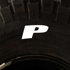 Tire Stickers - Letter P, , scanz_hi-res