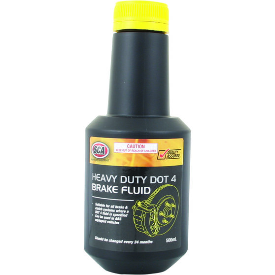 SCA Brake Fluid DOT 4 - 500mL, , scanz_hi-res