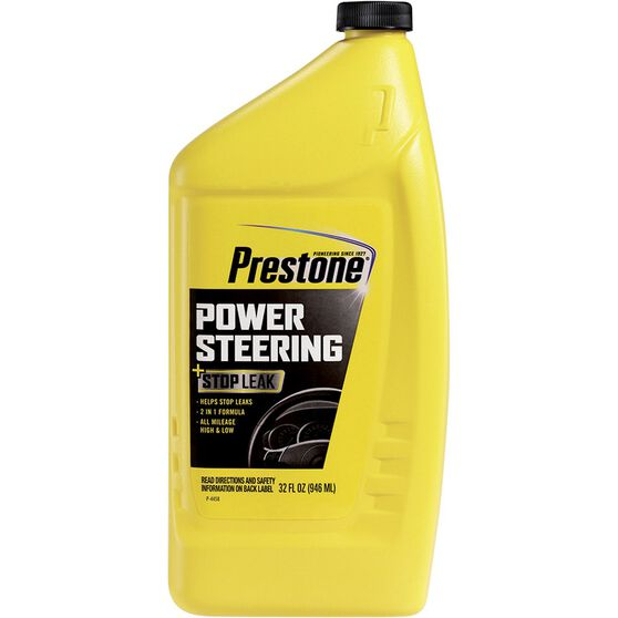 Prestone Power Steering Fluid & Stop Leak - 946mL, , scanz_hi-res