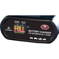 SCA 12V 6 Amp 7 Stage Battery Charger, , scanz_hi-res