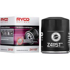 Ryco Syntec Oil Filter (Interchangeable with Z411) - Z411ST, , scanz_hi-res