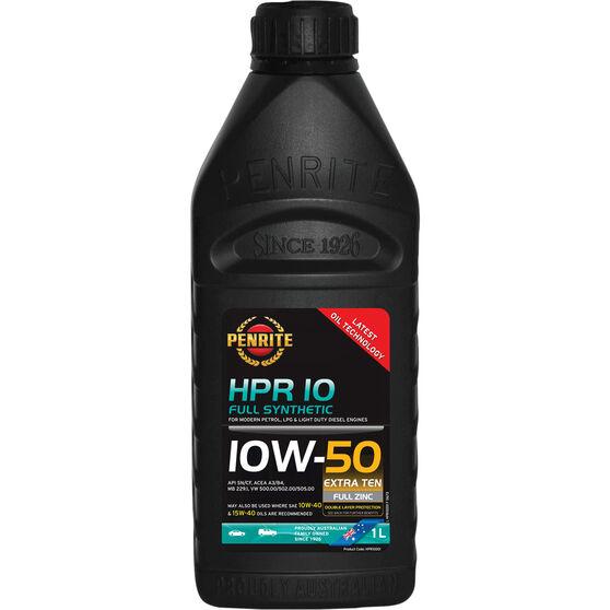 Penrite HPR 10 Engine Oil - 10W-50 1 Litre, , scanz_hi-res