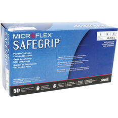 MICROFLEX Safegrip PF Latex Gloves 50 pack Large, , scanz_hi-res
