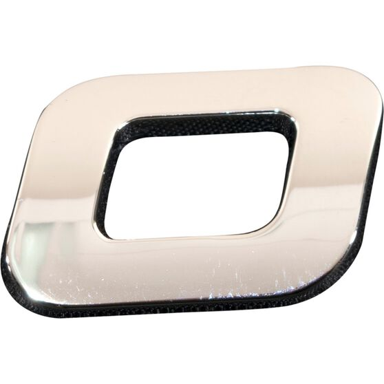 3D Chrome Badge - Letter O / Number 0, , scanz_hi-res