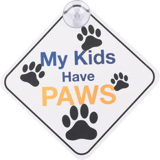 Cabin Crew Pets Window Sign - Fur Baby On Board, , scanz_hi-res