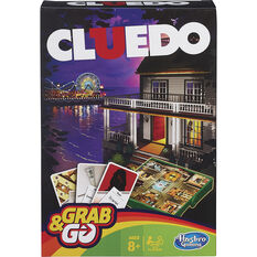 Hasbro Grab&Go Travel Game Cluedo, , scanz_hi-res