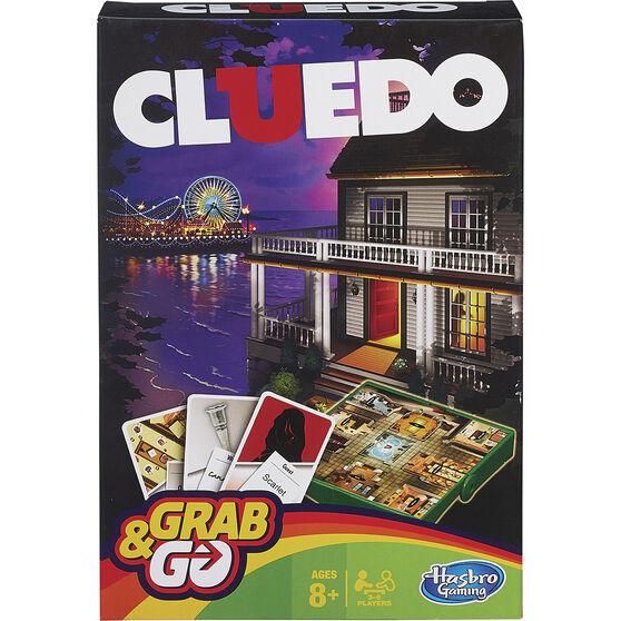 Hasbro Grab&Go Travel Game Cluedo, , scanz_hi-res