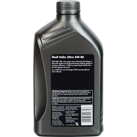 Shell Helix Ultra Engine Oil - 5W-40 1 Litre, , scanz_hi-res
