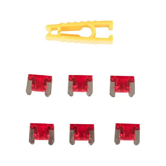 SCA Fuse Micro Blade - 10 AMP, 6pce, , scanz_hi-res