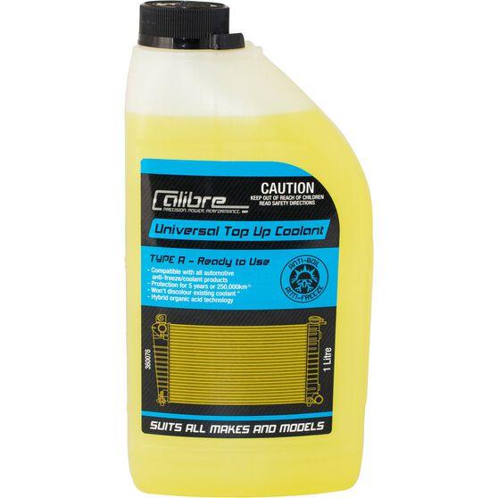 Calibre Univeral Yellow Coolant Premix Coolant - 1 Litre, , scanz_hi-res