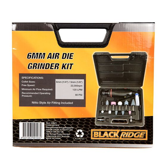 Blackridge Air Die Grinder Kit - 15 Piece, , scanz_hi-res