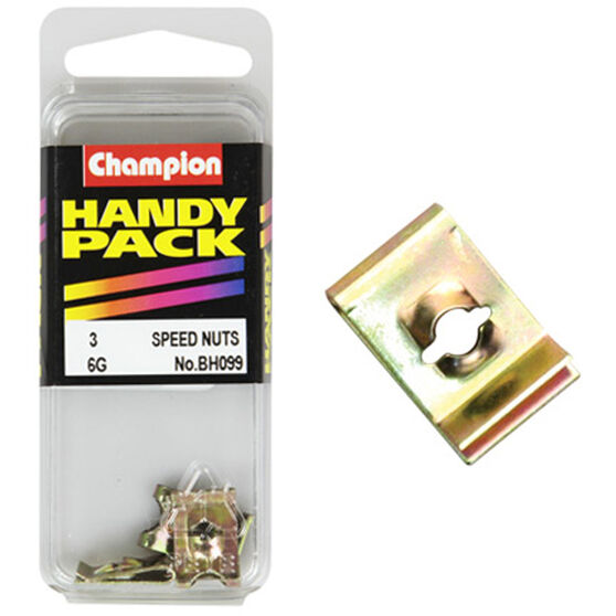 Champion Speed Nuts (Clips) - 6G, BH099, Handy Pack, , scanz_hi-res