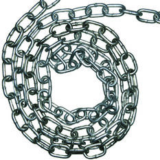 Icanic Galvanised Welded Chain - 8mm, Per Metre, , scanz_hi-res